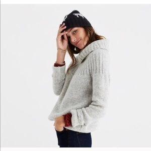 Snowbound Drawstring  Pullover cozy sweater ☕️☁️☀️